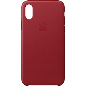 Чехол Apple Silicone Case для iPhone X (PRODUCT)RED™ Special Edition