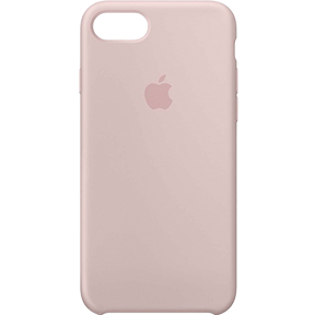 Чехол Apple Silicone Case для iPhone 8/7 розовый